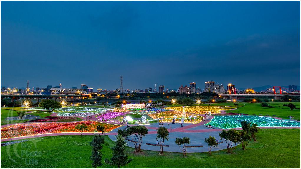 20190423板橋蝴蝶地景公園.夜光雕