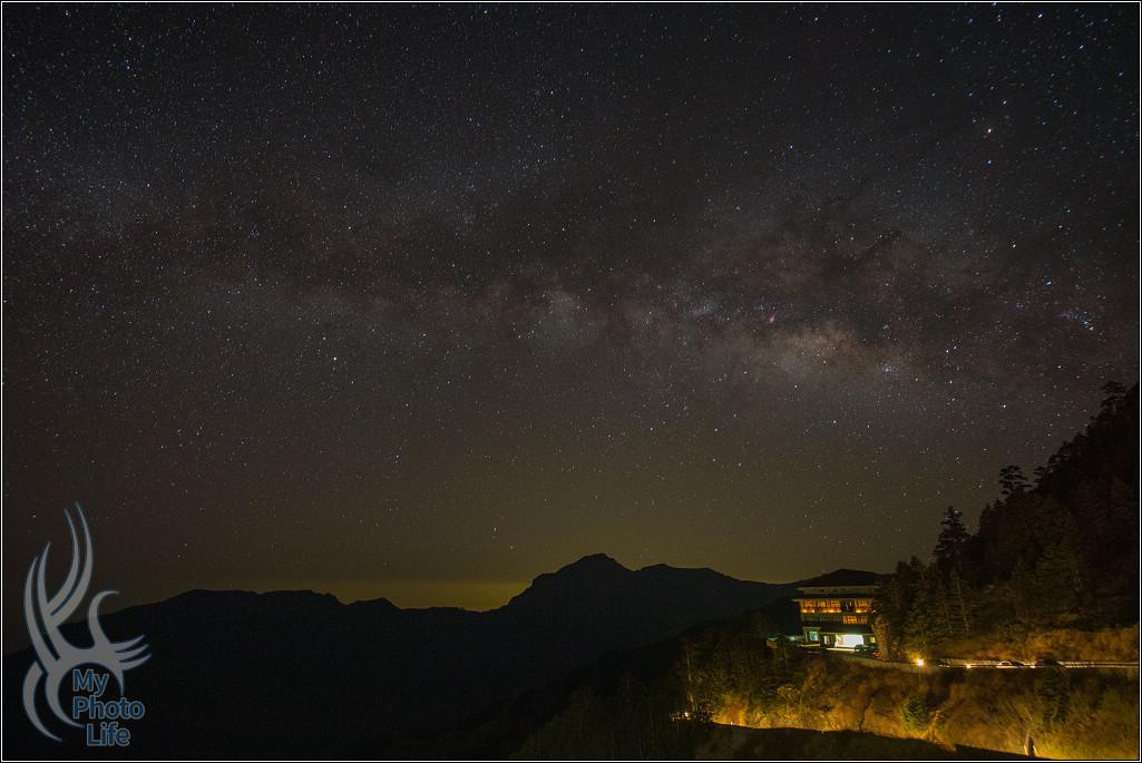 星空,銀河,夜景