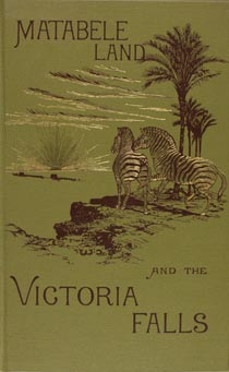 The cover of Frank Oates' book about his Expedition to Africa