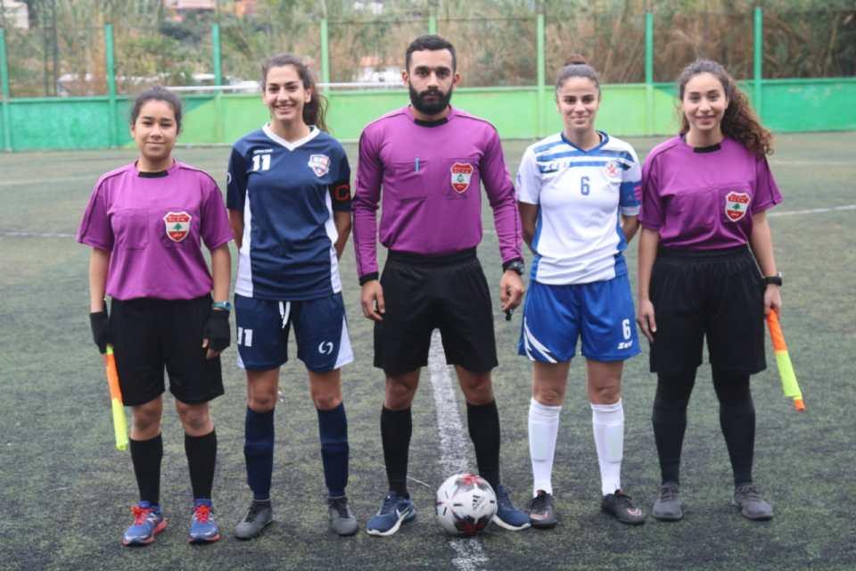 BFA captain (Yara Srour) and SAS captain (Tatiana Khalil)
