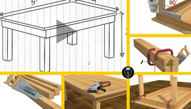12 Passaggi Per Costruire Un Tavolo In Legno Falegnameria900