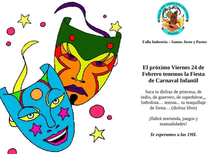 Fiesta Carnaval Infantil - 2017