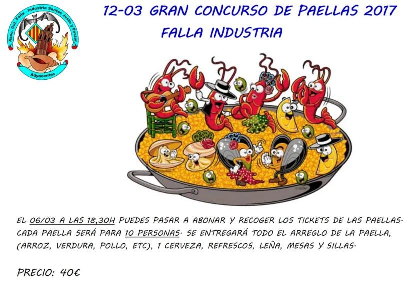 Concurso paellas 2017 - Falla Industria