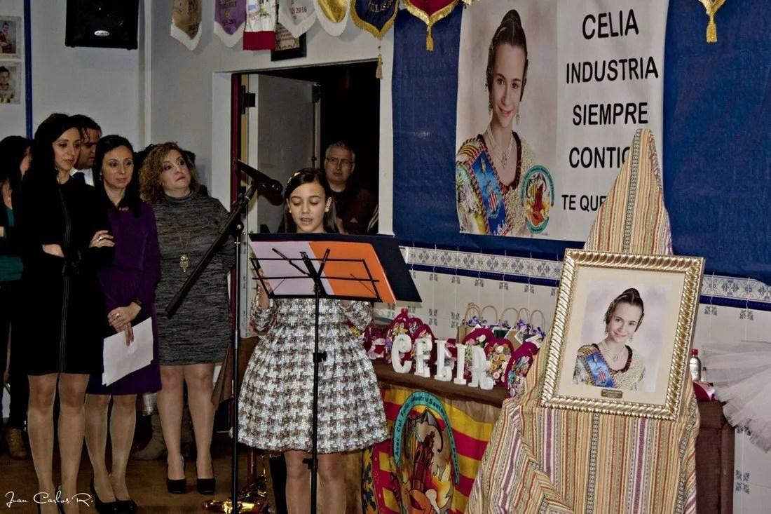 Homenaje Celia Guerras Falla Industria