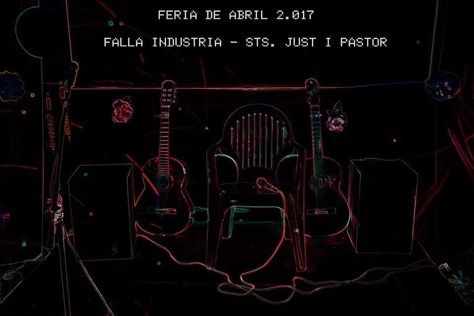 Feria Abril 2017  Falla Industria