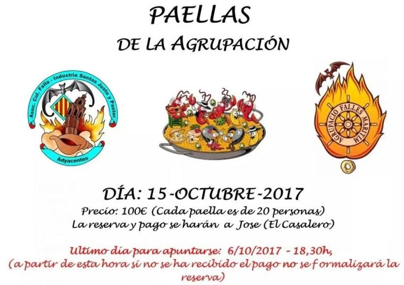 Paellas Agrupación 2017