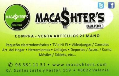 19 MACASHERT'S