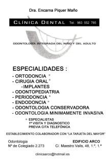 A27 Encarna Piquer clinica