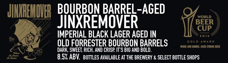 Jinx Remover Beer Sign