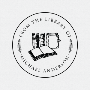Personalized Library Book Stamp