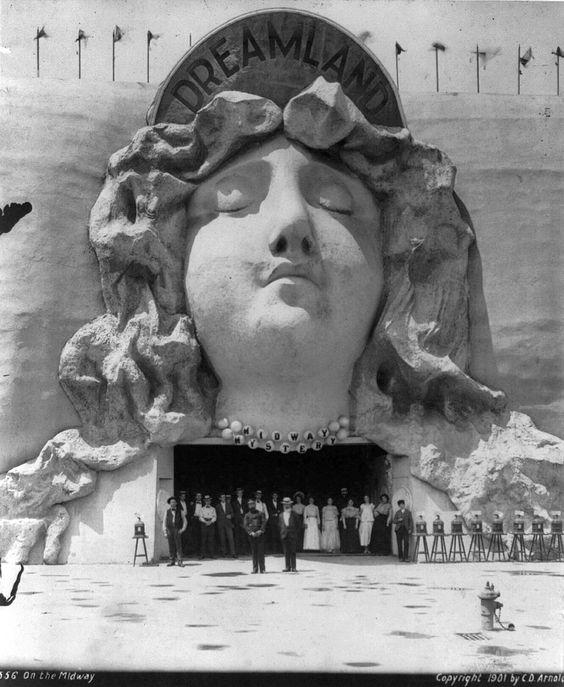 1901 Dreamland. Coney Island