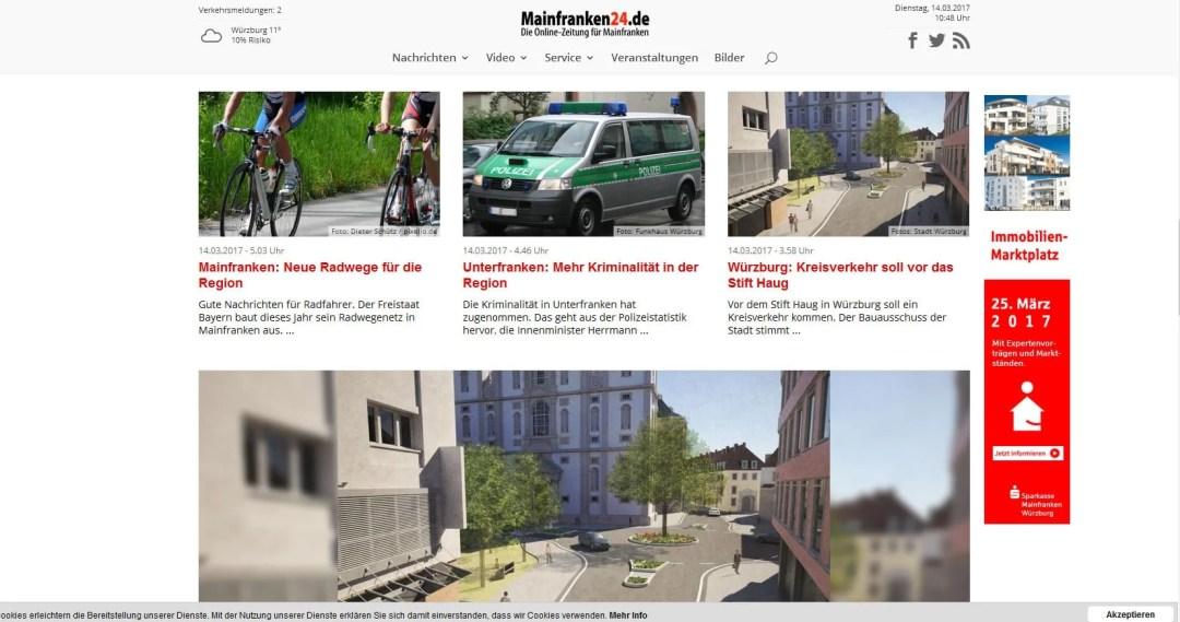 Mainfranken24 – Die Onlinezeitung