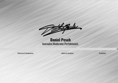 Daniel Pesch Journalist – Moderator – Perfektionist.