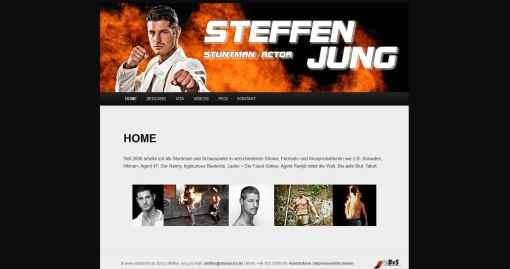 Steffen Jung Stuntman und Schauspieler