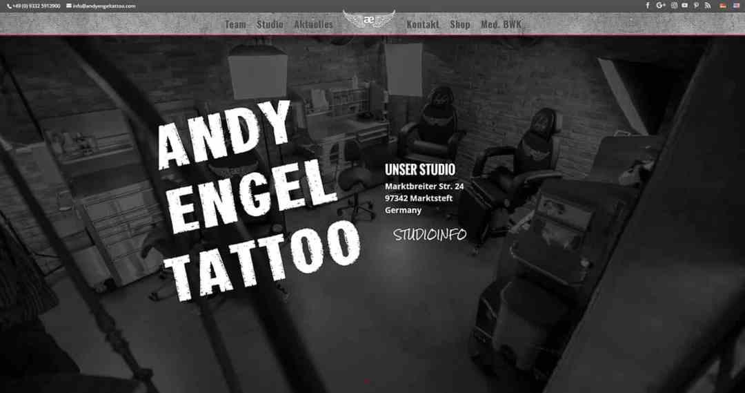 Andy Engel Tattoo
