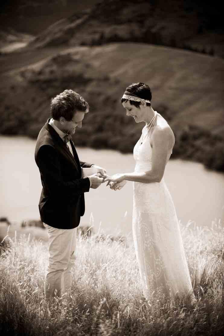 stunning NZ High Country elopement