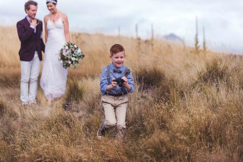 stunning NZ High Country elopement