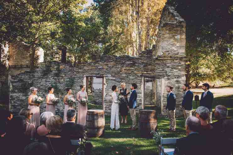 Queenstown Wedding Day Timeline queenstown wedding trends Andrea + Pat | A Stunning Thurlby Domain Wedding fallon photography Elopement Packages Queenstown
