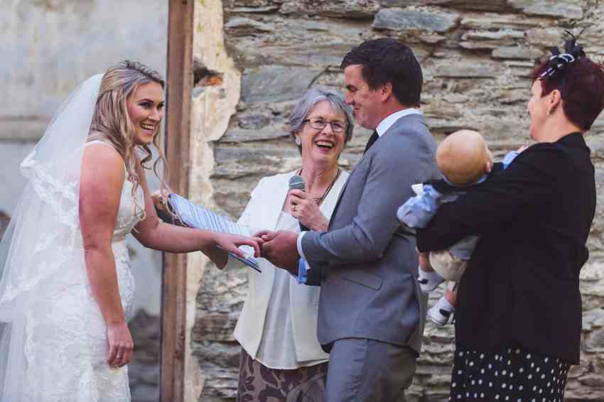 autumn Arrowtown wedding