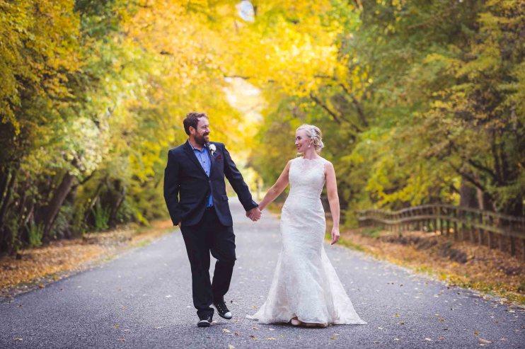 April & Nick's DIY Thurlby Domain Wedding