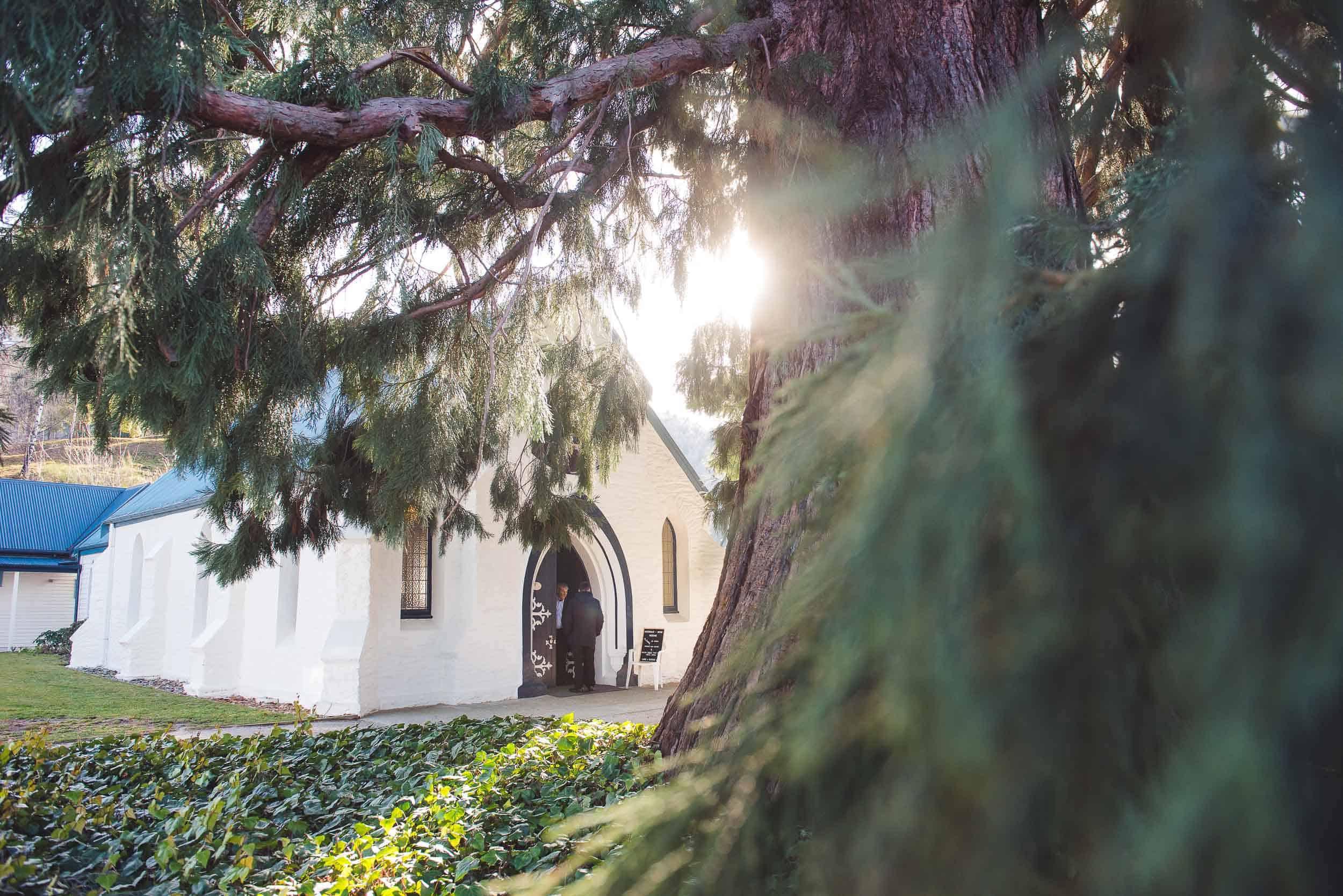 St Johns Church Wedding Arrowtown wedding