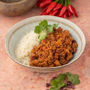 Chilli Beef & Brown Rice