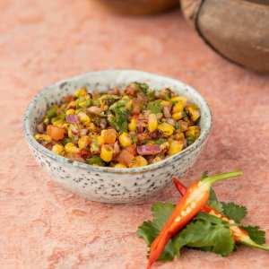 Charred Corn Salsa
