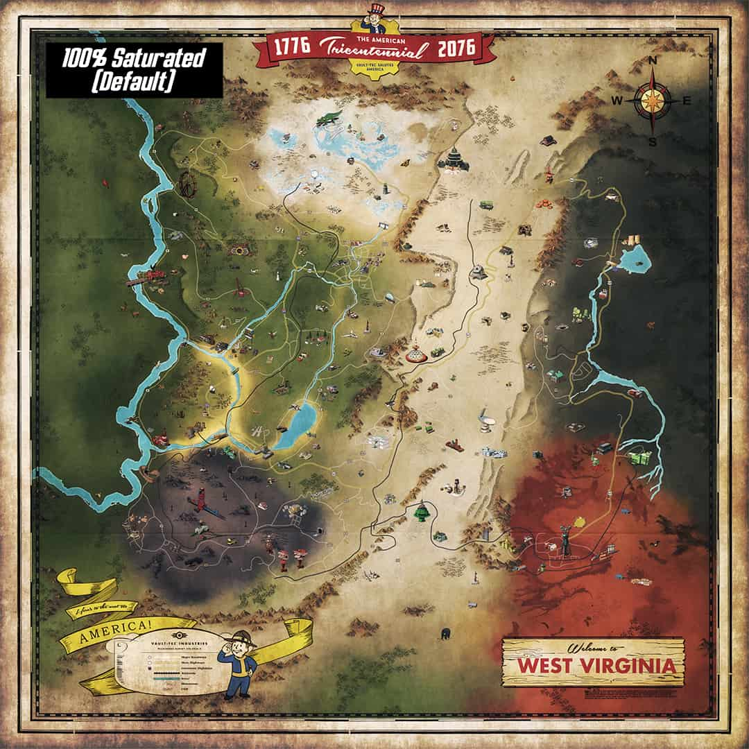 Ultimist S High Detailed Map Fallout 76 Mod Download