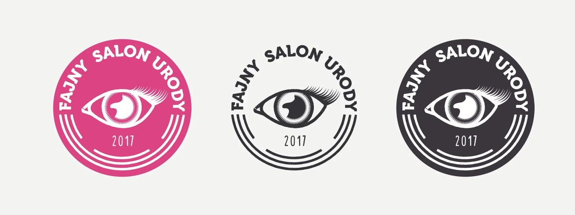 fajny salon urody logo