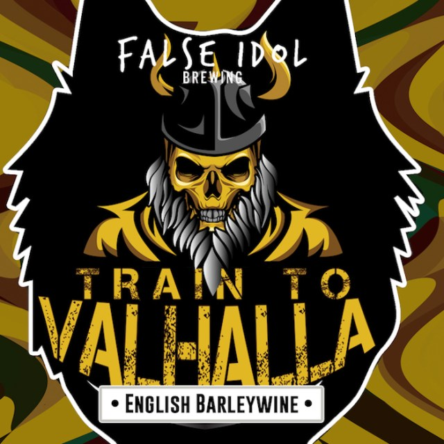 False Idol Brewing Train to Valhalla