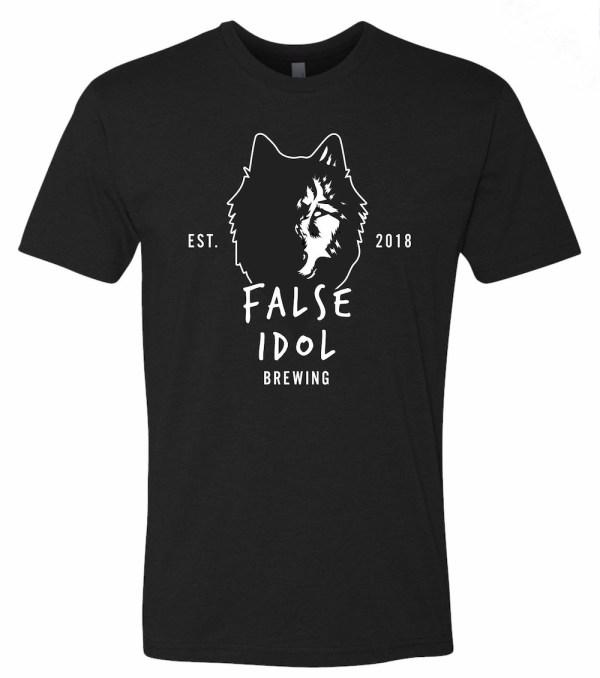 False Idol Brewing Wolf T-Shirt 2018