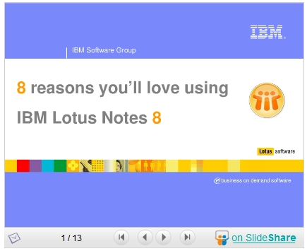 8 Reasons You'll Love Using IBM Lotus Notes 8