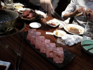 Meat Meetup at a Yakiniku