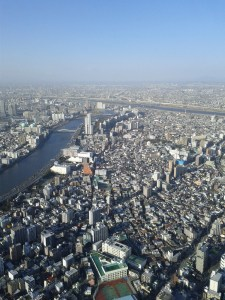 View from Tokyo Sky Tree
