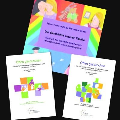 Aufklärungsbuch für Kinder nach Samenspende in lesbischen Familien, Ratgeber für Eltern