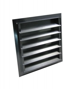 louvered gable vents