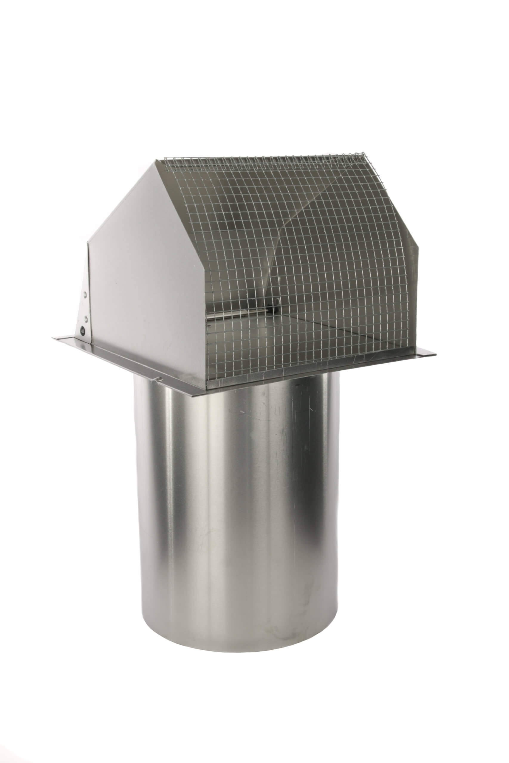 hooded wall vent w spring loaded