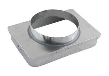Masonry to Metal Chimney Transition - Galvanized-0