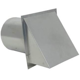 Aluminum Wall Vent with Damper-0