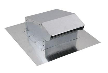 Bath Fan / Kitchen Exhaust - Roof Vent - Galvanized-0