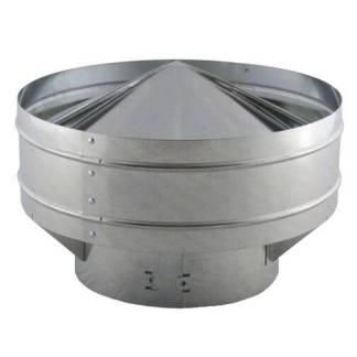 Globe Vent - Galvanized-0