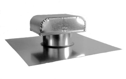 J Vent with Shake Base - Galvanized-0