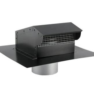 Bath Fan / Kitchen Exhaust - Roof Vent with Extension - Painted-0