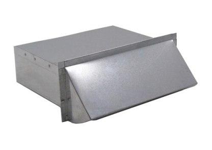 Rectangular Wall Vent 3-1/4 in. x 10 in. - Aluminum-0
