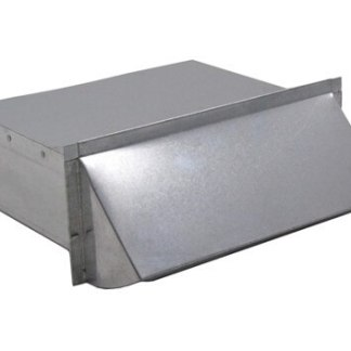 Rectangular Wall Vent 3-1/4 in. x 10 in. - Aluminum-0