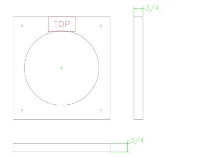 Stucco Ring for Round Wall Vents -0