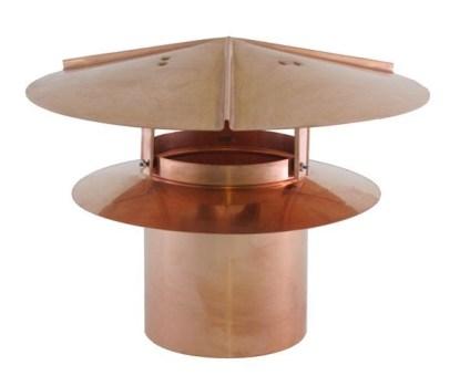 Universal Chimney Cap - Copper-0