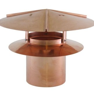 Universal Chimney Cap - Copper-0