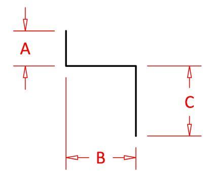 "Siding Z-Bar 3/8"" x 5/16"" x 3/4""-0"