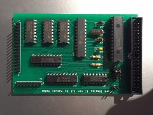 Assembled display card
